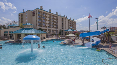 Hotels in Pigeon Forge with Water Park | Music Road Resort Hotel